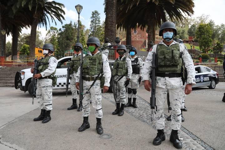 Metepec recibe a la Guardia Nacional