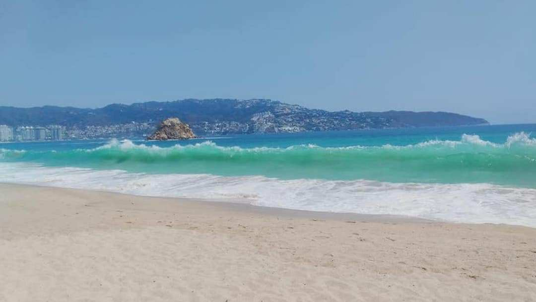 Playas de Acapulco lucen increíbles durante cuarentena por Covid-19