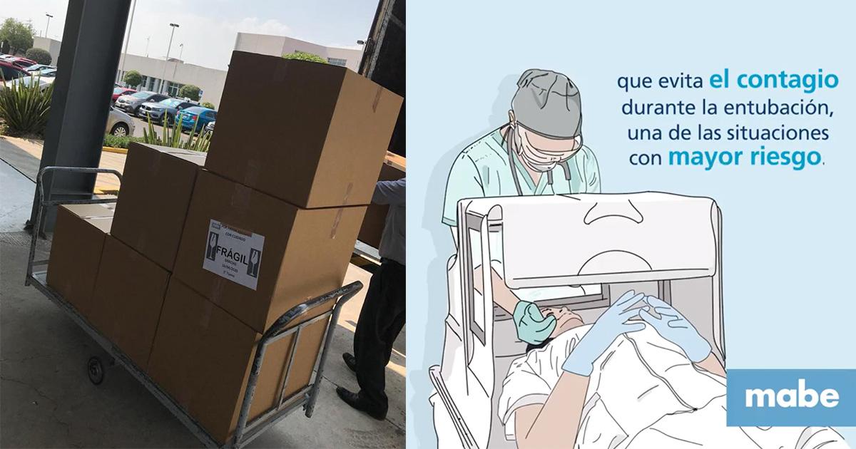 mabe se pone la camiseta con donación de equipo para Centro Médico Toluca