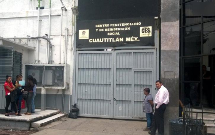 Registran cinco casos de Covid-19 en penal de Cuautitlán, EdoMéx