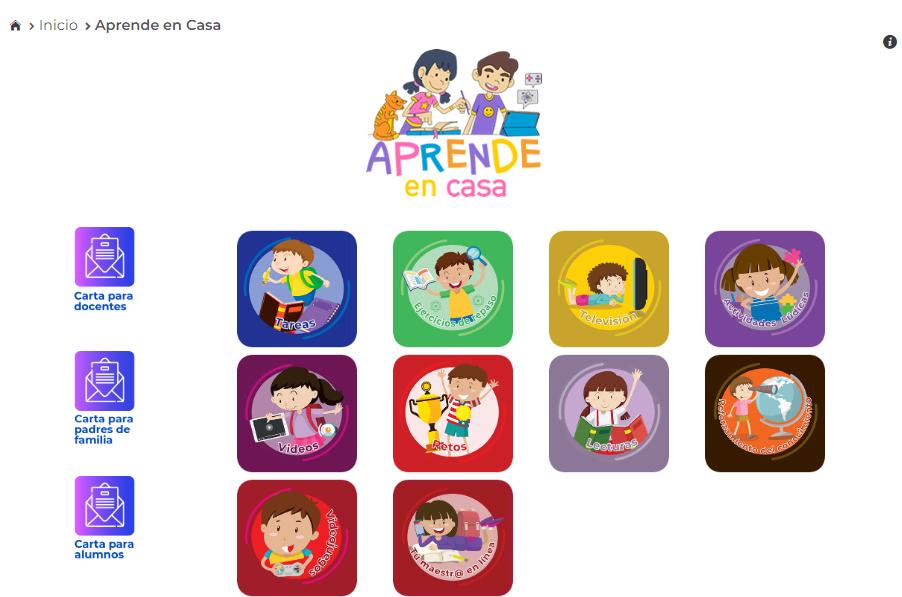 """SEP lanza nueva página """"Aprende en casa"""" para docentes, padres de familia y alumnos"""
