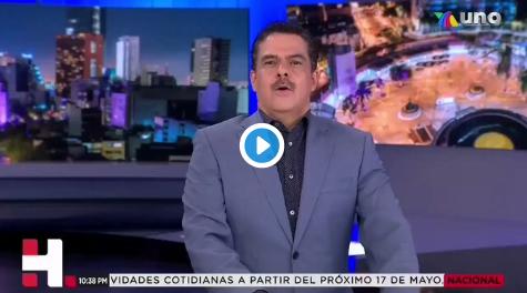 """""""Ya no le hagan caso a Hugo López Gatell""""; Javier de la Torre en noticiero de Tv Azteca"""