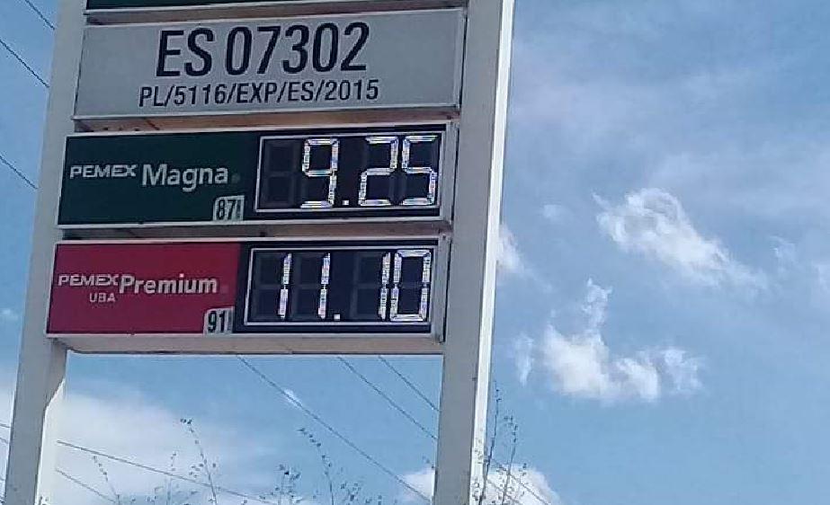 Aquí se vende la gasolina más barata de todo México