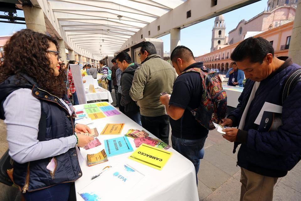 Bolsa de Trabajo: Ofrecerán empleos en Toluca