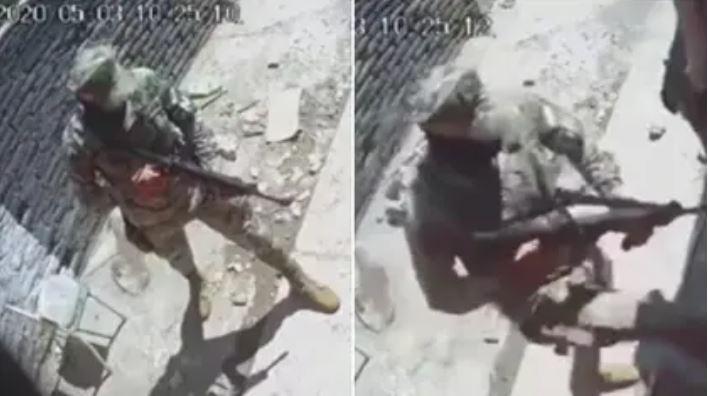 (VIDEO) Captan a elementos de la Guardia Nacional pidiendo dinero a presuntos narcos