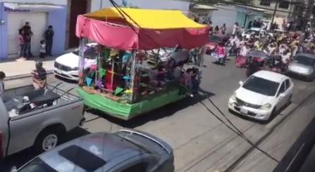 Festejan a San Isidro, pese a contingencia en Santa Ana Tepaltitlan