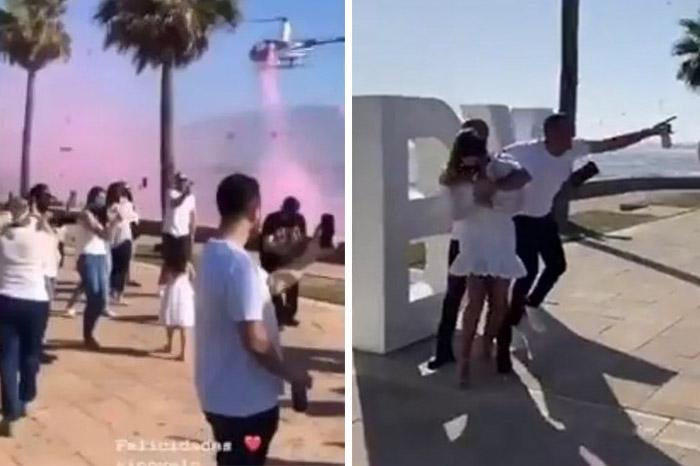 Hija de senador de Baja California arma una mega fiesta