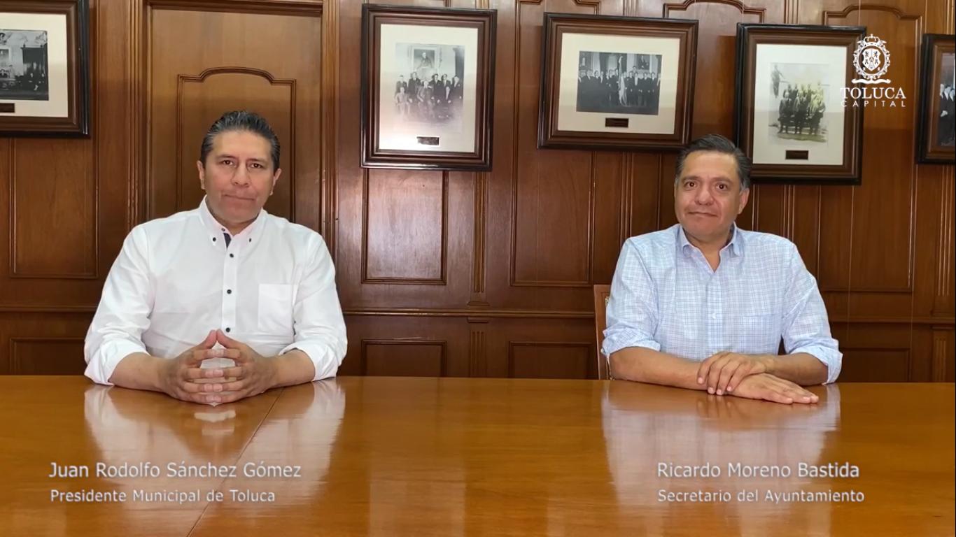 Juan Rodolfo pone en marcha plan de ajuste económico para Toluca