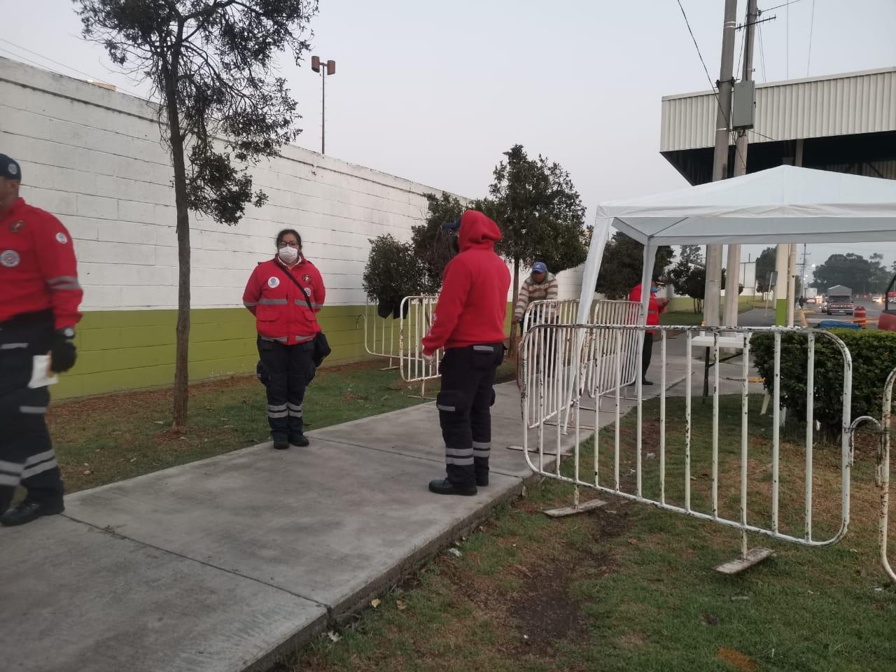 Operativo especial en Central de Abastos de Toluca