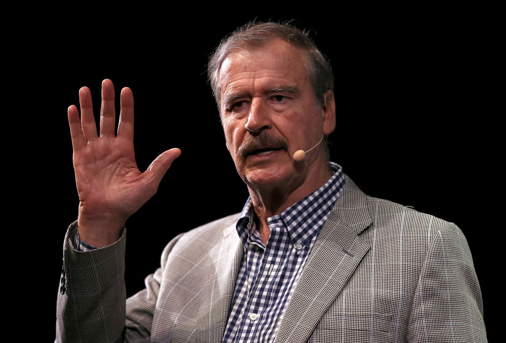 Vicente Fox Ahorita difícilmente tengo para comer