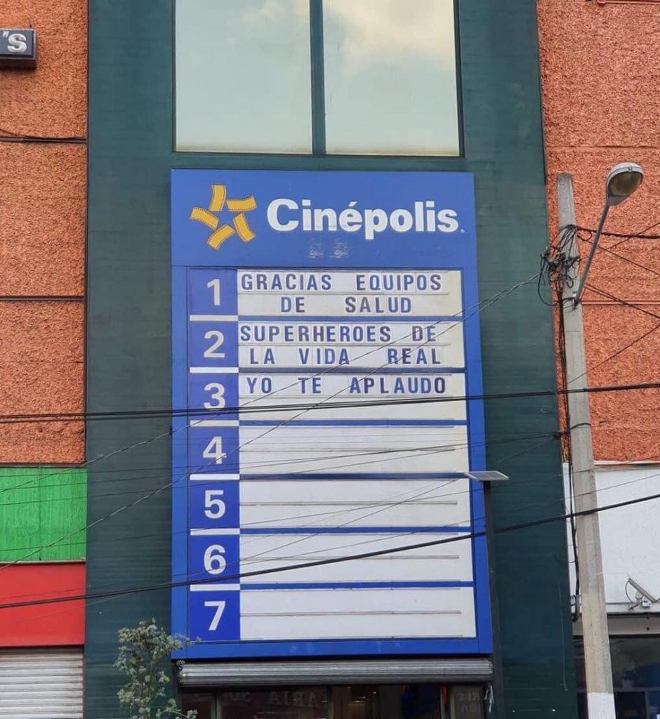 Cinepolis Toluca anuncia emotivo mensaje en Centro Comercial