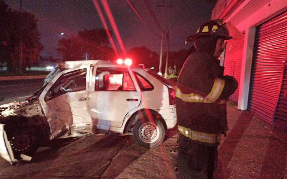 Se registra accidente sobre Calzada del Pacífico en Toluca