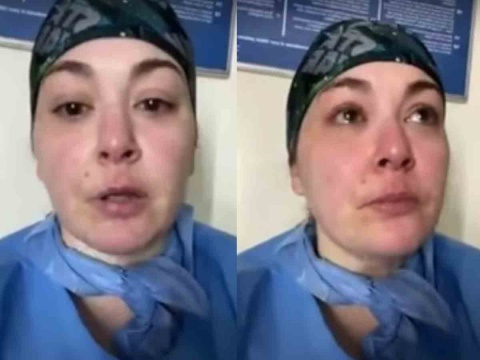 VIDEO-'No les importan las vidas de los negros e hispanos', denuncia enfermera en NY.