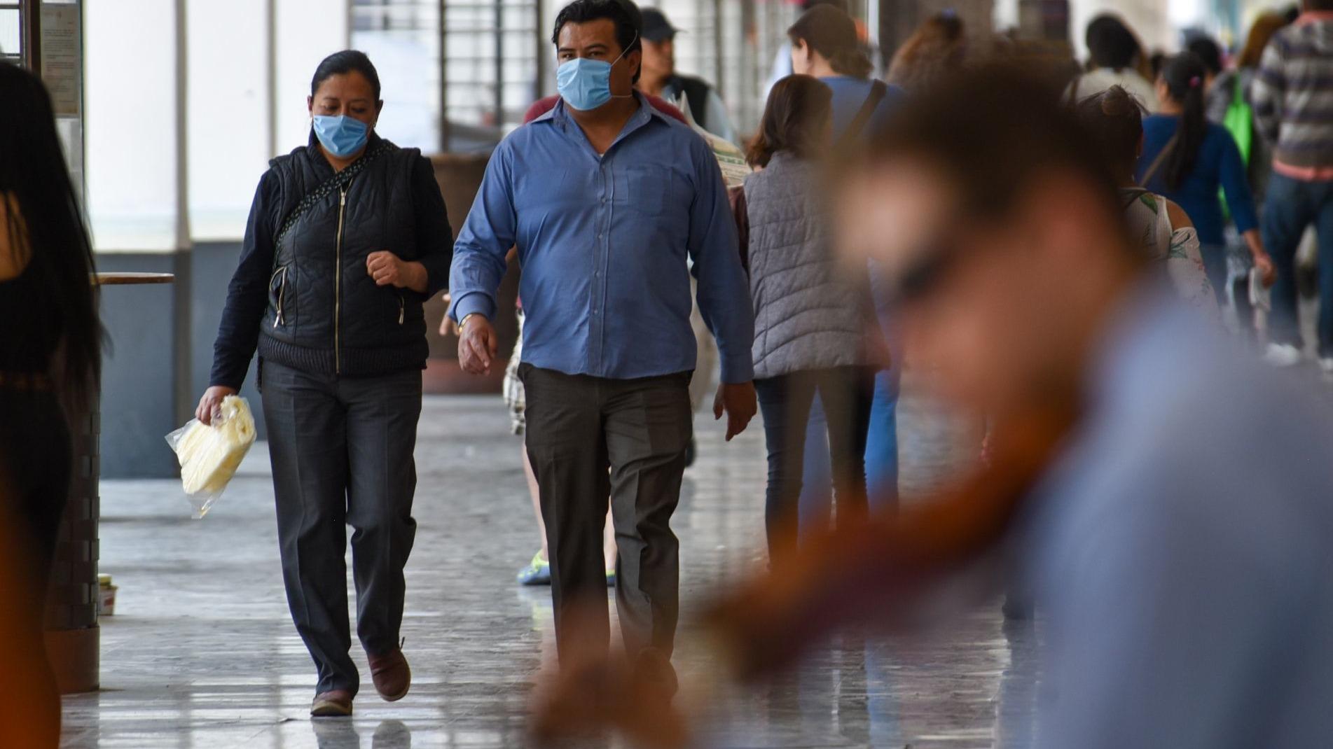 Al día de hoy Toluca se encuentra en el quinto lugar de mayor contagios.