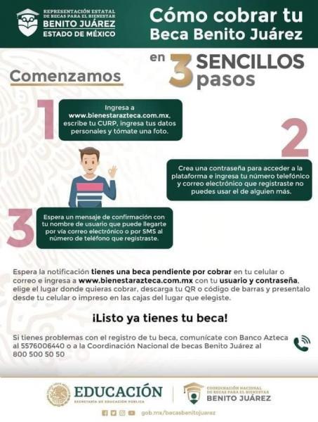 Beca Benito Juárez || Resolvemos tus dudas de la plataforma Bienestar Azteca