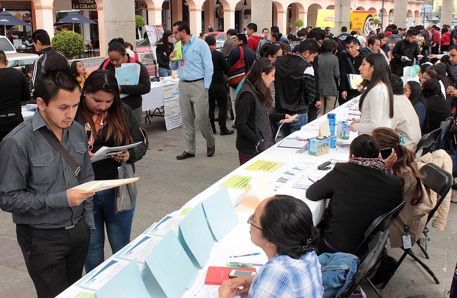 Bolsa de Trabajo: Ofrecen empleos en Toluca