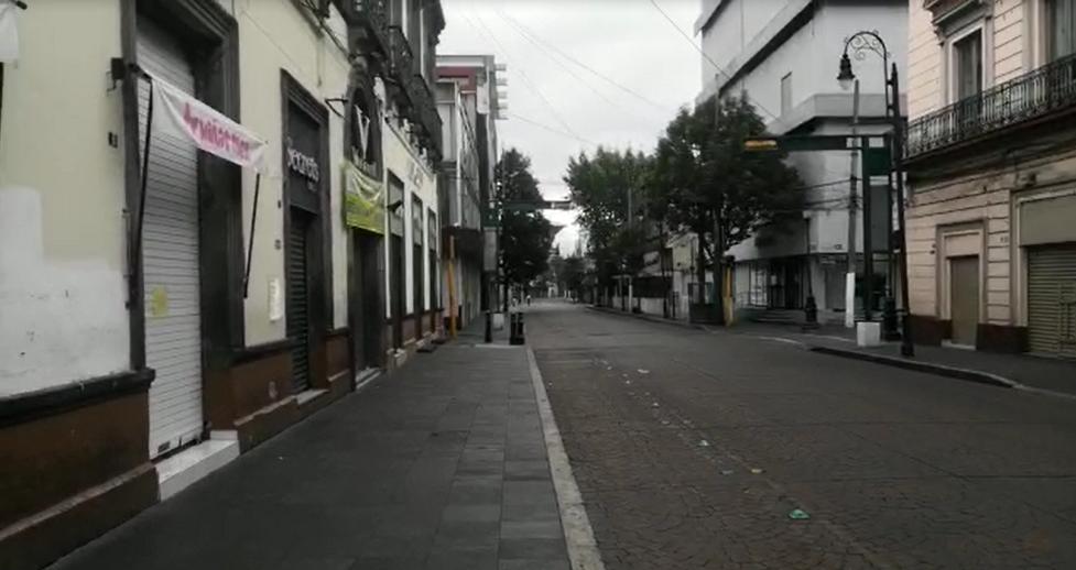 VIDEO || Así lucen las calles de Toluca tras cierre de primer cuadro