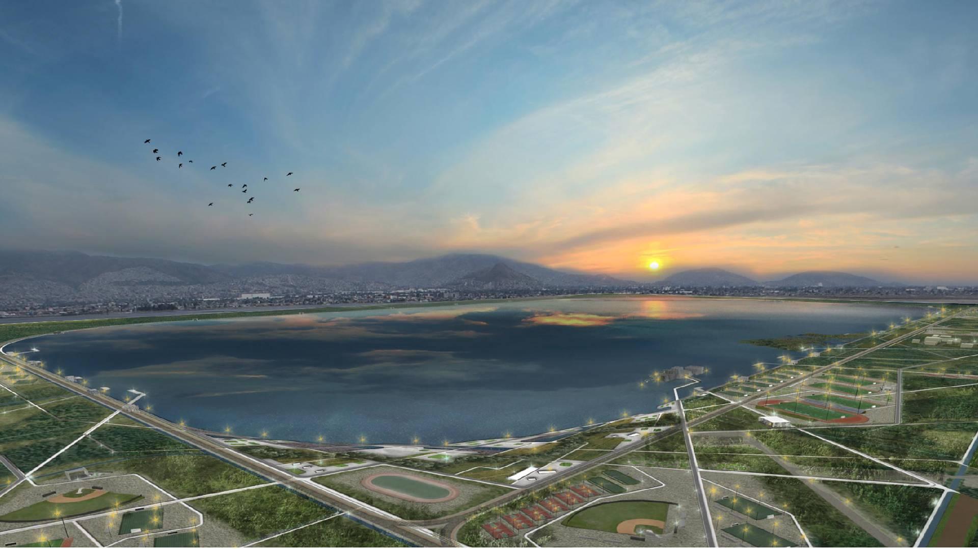 Conoce el nuevo Parque Ecológico Lago de Texcoco, este proyecto que ya dio comienzo por parte de CONAGUA será el más grande del mundo.
