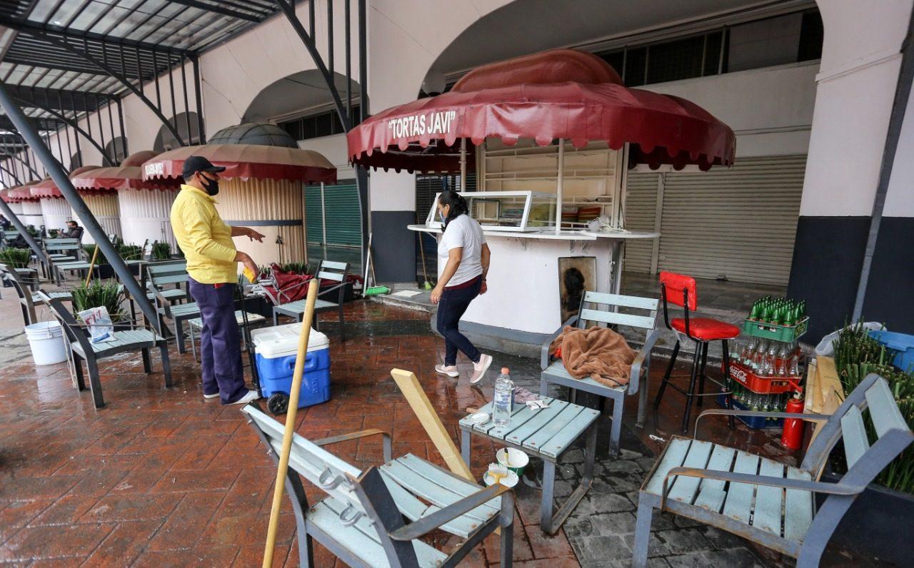 Establecimientos de comida en Toluca se preparan para su futura reapertura