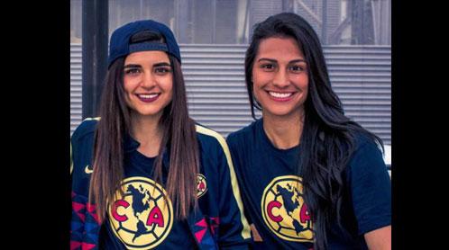 Jugadoras club américa