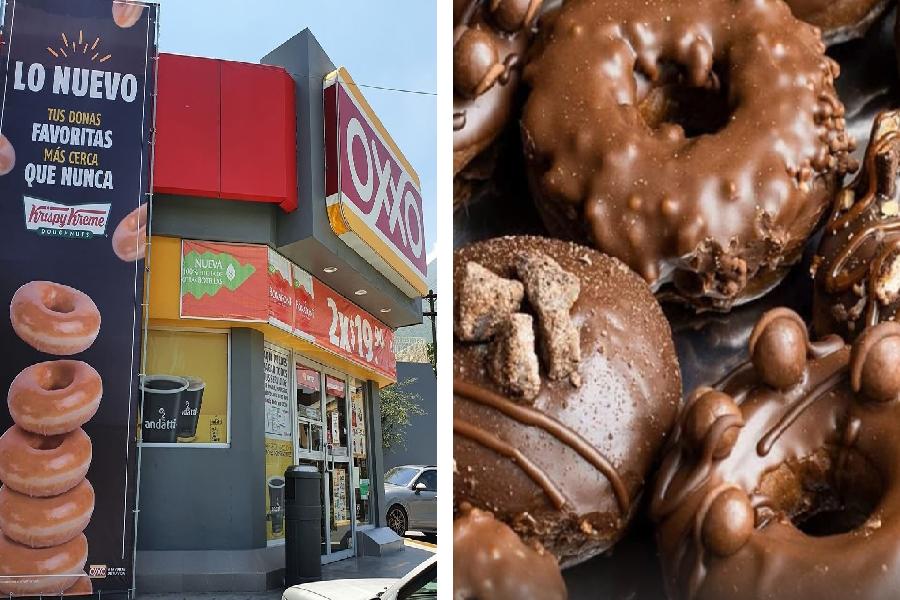 Krispy Kreme en OXXO Te decimos todo al respecto