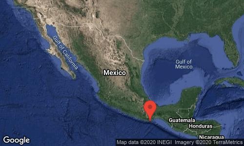 Registran sismo en México de magnitud 7.1