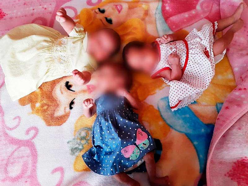 Trillizas prematuras nacidas en clínica del IMSS oluca se recuperan
