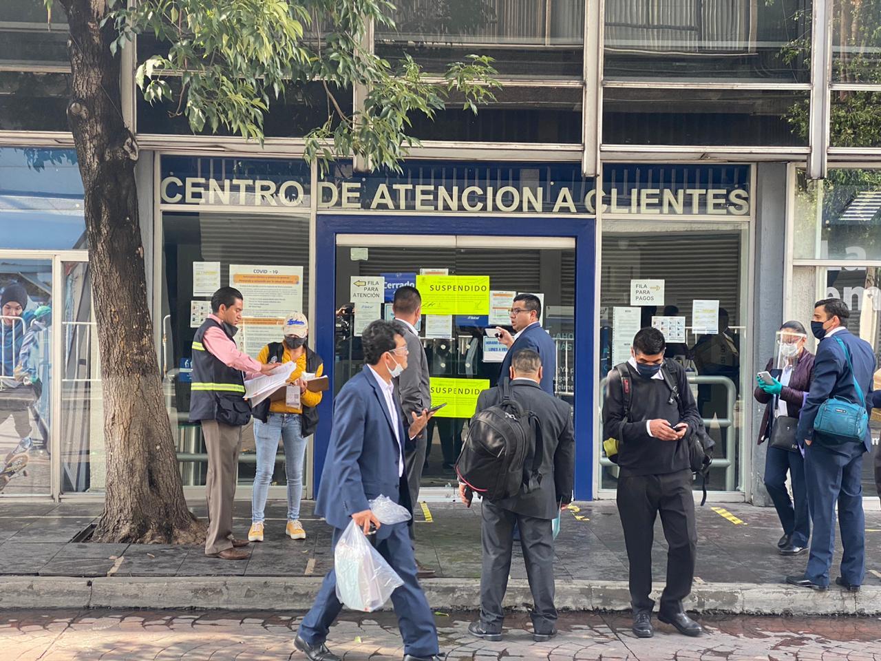 Suspenden Centro de Atención Telcel en Toluca