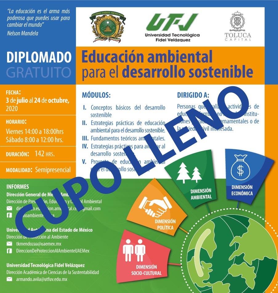 Diplomado Educación Ambiental para el Desarrollo Sostenible