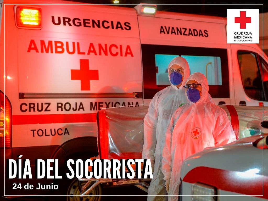 En el día del Socorrista, Cruz Roja Mexicana enfrenta el mayor reto humanitario por el Covid-19