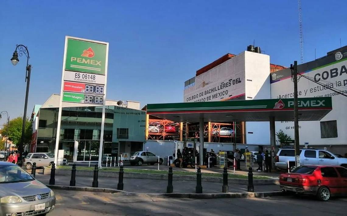 Aumento de entre 8 y 10 centavos el precio de gasolina hoy en las gasolinerías de Toluca y Metepec. ¿Dónde conseguir el precio más barato?