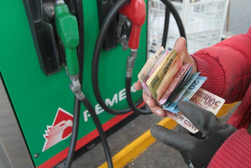 Precio gasolina SUBE, precios del Estado de México.