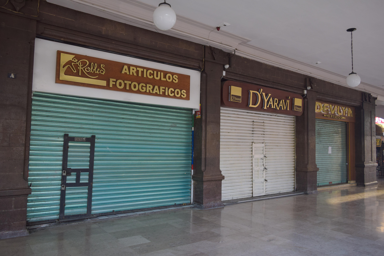 Incrementa el cierre de negocios por coronavirus en Toluca