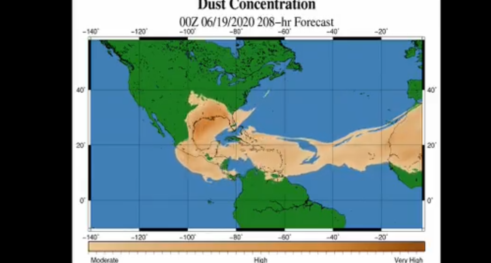 polvo del desierto del sahara llegará a México