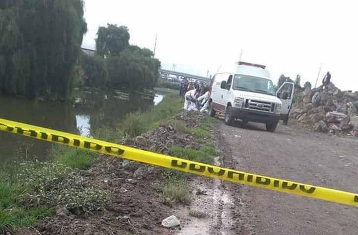 Dos menores de edad se encontraban paseando en bicicleta por la orilla del Río Lerma, las dos cayeron y una falleció ahogada.