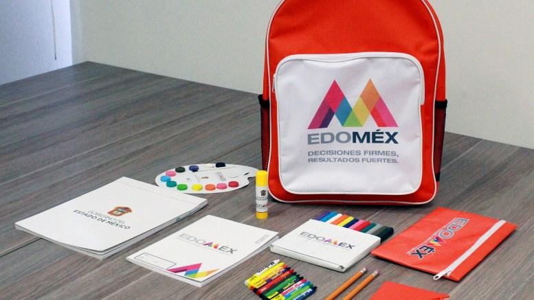 Útiles escolares gratuitos 2020-2021 en el Edomex