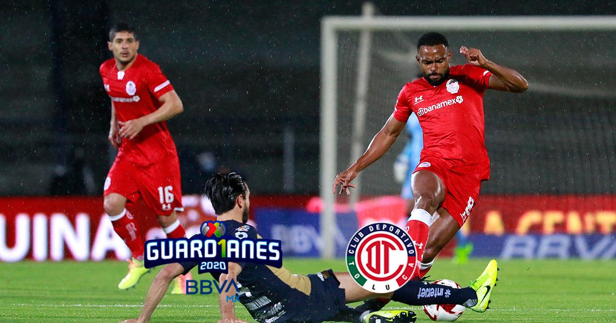 Calendario del Toluca FC para el Torneo Guard1anes 2020 MX