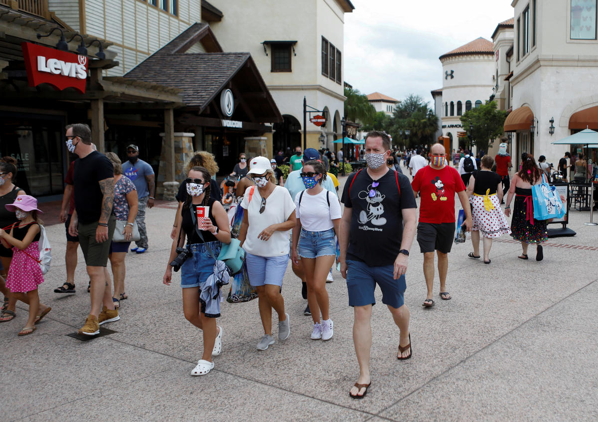 VIDEO    Disneyland ya abrió sus puertas a pesar de la pandemia