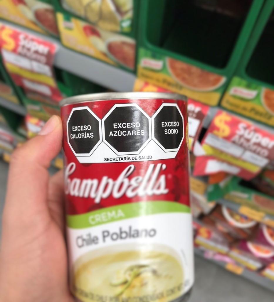 Conoce el nuevo etiquetado en alimentos y bebidas