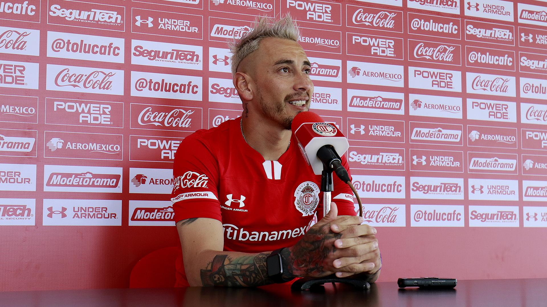 Fabián Sambueza podría jugar con su hermano Rubens en el Club Deportivo Toluca