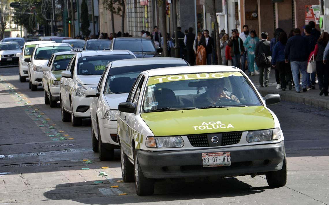 Conoce las rutas más inseguras de taxis colectivos del Valle de Toluca.