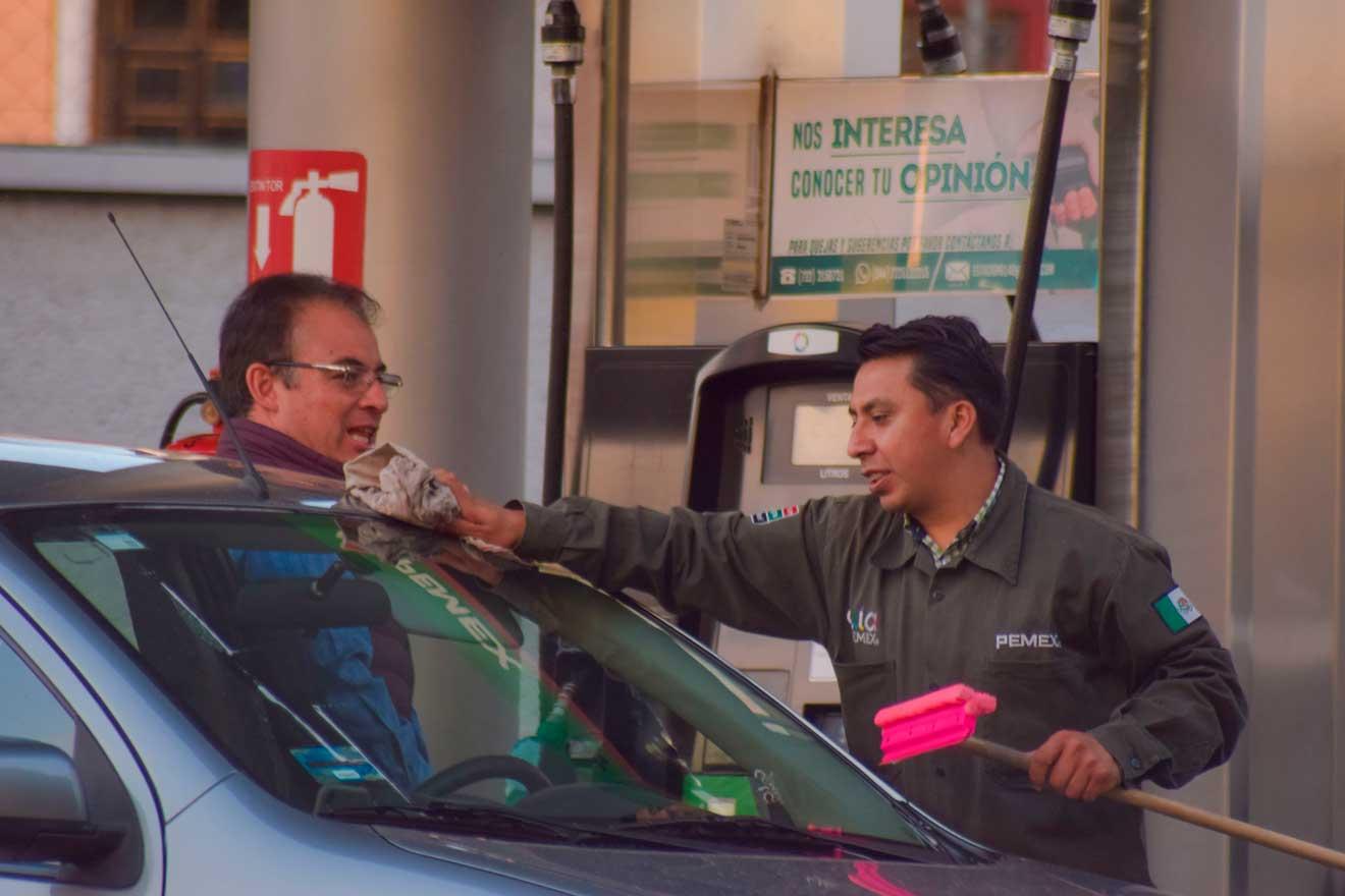 Precio de la gasolina hoy Toluca y Metepec
