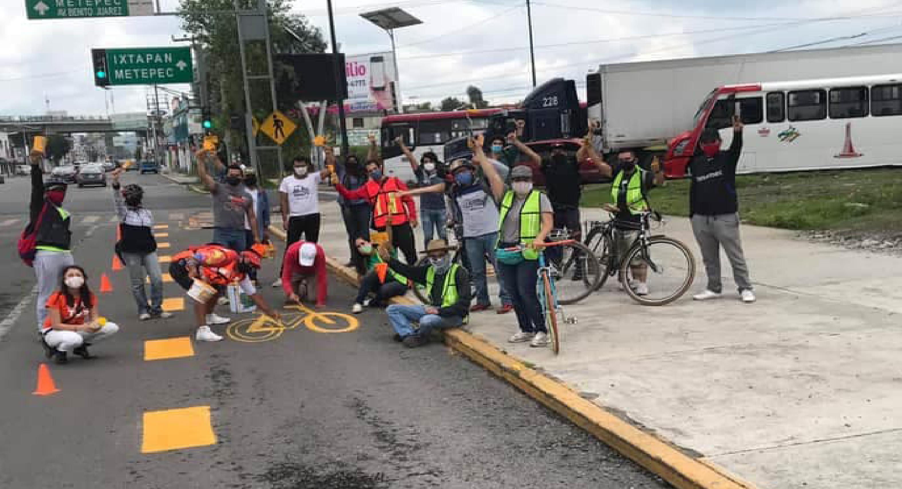 Reinciden exigencias en materia de ciclovías en el Valle de Toluca