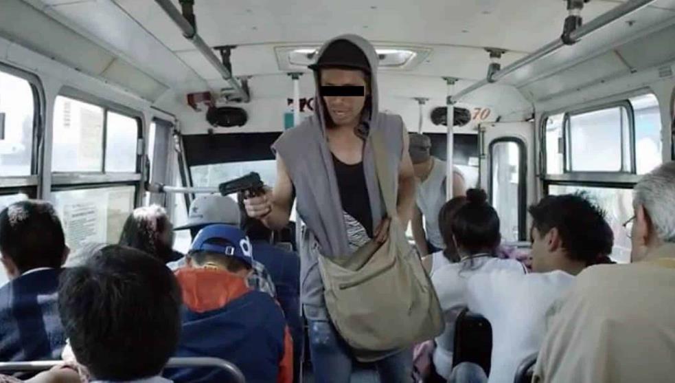 Siguen los asaltos al transporte público de Toluca