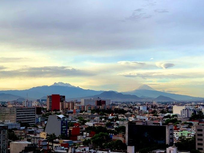 VIDEO-FOTOGALERÍA Popocatépetl e Iztaccíhuatl cubiertos de nieve