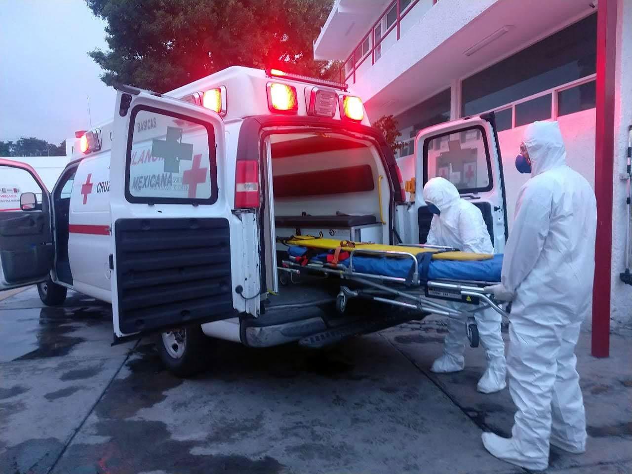 Cruz Roja atiende a más de 1000 pacientes con síntomas de COVID-19 en Edomex