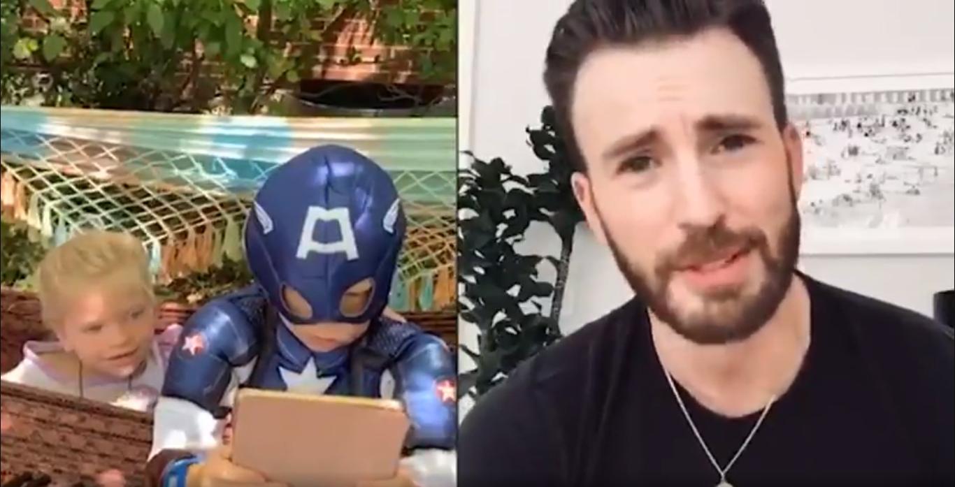 Niño salva a su hermanita de mordedura de perro y los Avengers le responden