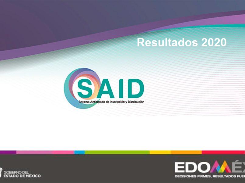 ¿Cuándo y dónde se publican los resultados SAID 2020 EdoMéx?