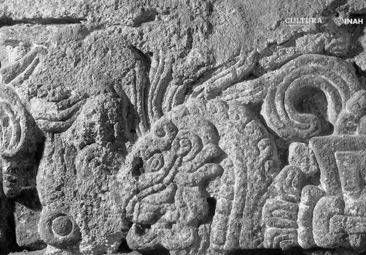 Descubren en Monte de Piedad restos del palacio de Axayácatl