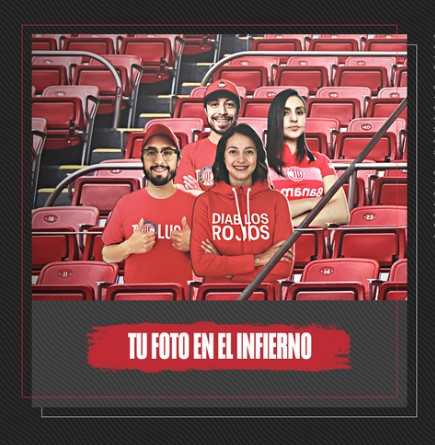 ¿Quieres que tu foto aparezca en las gradas del infierno? Toluca FC lo hace posible